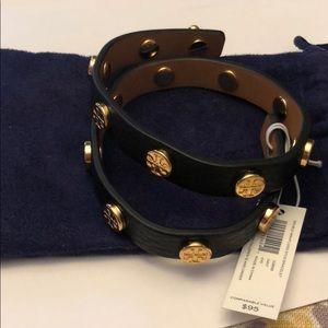 Tory Burch leather bracelet